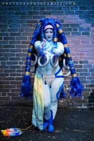 Shiva from Final Fantasy X worn by Shiva