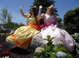 Princess Daisy from Super Mario Brothers Series worn by Shiva