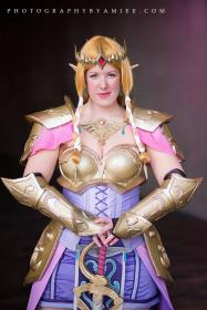 Zelda from Hyrule Warriors worn by Shiva