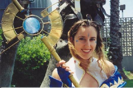 Belldandy from Ah My Goddess worn by Raya