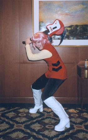 Haruko Haruhara from FLCL worn by Raya