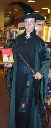 Professor McGonagall from Harry Potter worn by Electric Desire