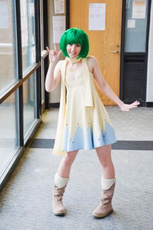Ranka Lee from Macross Frontier