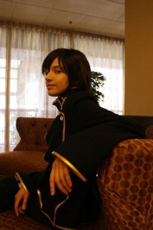 Suzaku Kururugi from Code Geass worn by Dokudel