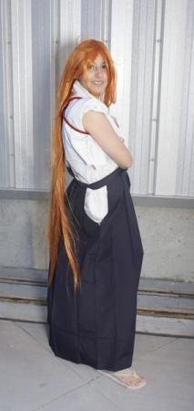 Aya Natsume from Tenjou Tenge