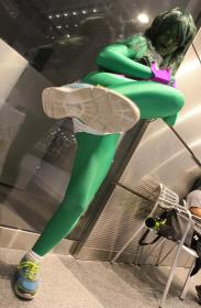 She Hulk from Marvel Comics worn by Dokudel