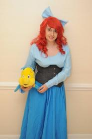 Ariel from Little Mermaid worn by Dokudel