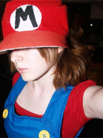 Mario from Super Mario Brothers Series worn by ComeHomeAdeline