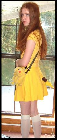 Pikachu from Pokemon worn by ComeHomeAdeline