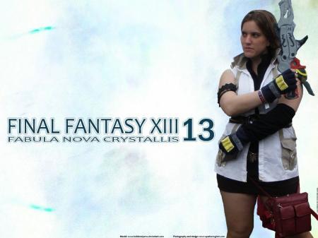 Lightning from Final Fantasy XIII
