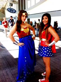 Wonder Woman from Justice League worn by a/o Belldandy