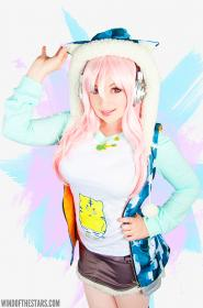 Super Sonico from Super Sonico: The Anime
