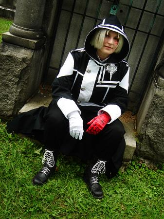 Allen Walker from D. Gray-Man worn by Rogue