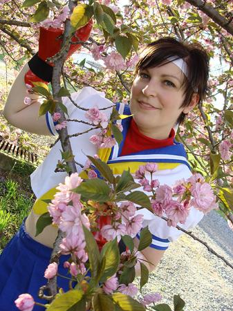 Sakura Kasugano from Street Fighter IV worn by Rogue