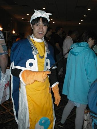 Taikoubou from Houshin Engi worn by Genjitsu