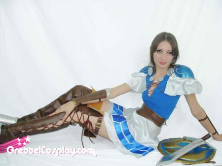 Sophitia Alexandra from Soul Calibur worn by Grettel