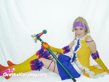 Rikku from Final Fantasy X-2 worn by Grettel