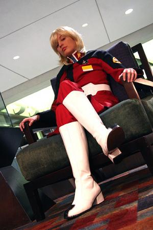 Rey Za Burrel from Mobile Suit Gundam Seed Destiny worn by chas