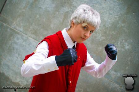 Akihiko from Persona 3 worn by chas
