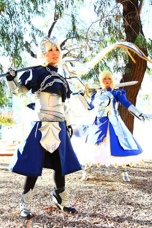 Saber from Fate/Stay Night (Worn by chas)