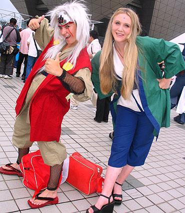 Jiraiya from Naruto worn by Sana-chan