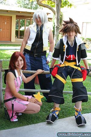 Kairi from Kingdom Hearts 2 worn by Sana-chan