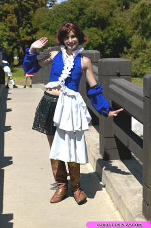 Yuna from Final Fantasy X-2 worn by Sana-chan