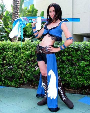 Rinoa Heartilly from Final Fantasy VIII worn by Sana-chan