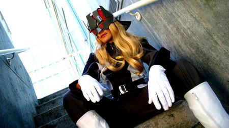 Neo Lorrnoke / Mu La Flaga from Mobile Suit Gundam Seed Destiny worn by Sana-chan