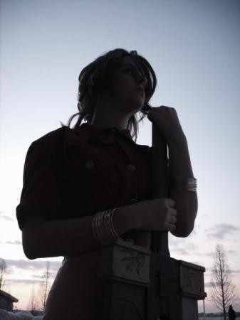 Aeris / Aerith Gainsborough from Final Fantasy VII: Advent Children worn by FoxyKitsune