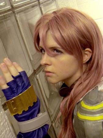 Lightning from Final Fantasy XIII worn by FoxyKitsune