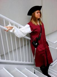 Elizabeth Swann from Pirates of the Caribbean worn by Kira Rhian