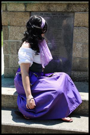 Esmeralda from Hunchback of Notre Dame worn by Kira Rhian