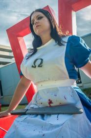 Alice from American McGee's Alice worn by Kira Rhian