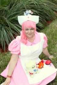 Nurse Joy from Pokemon worn by Kira Rhian