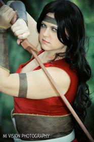 Lady Sif from Thor worn by Kira Rhian