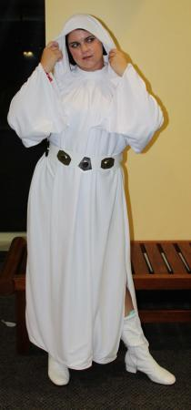 Princess Leia Organa from Star Wars Episode 4: A New Hope worn by Kira Rhian