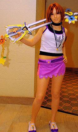 Kairi from Kingdom Hearts worn by x3rikku