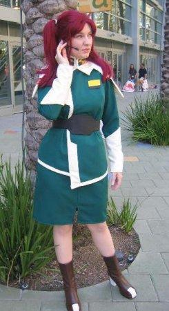 Meyrin Hawke from Mobile Suit Gundam Seed Destiny