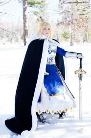 Saber from Fate/Stay Night worn by Binkx