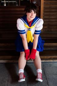 Sakura Kasugano from Street Fighter Alpha worn by Binkx