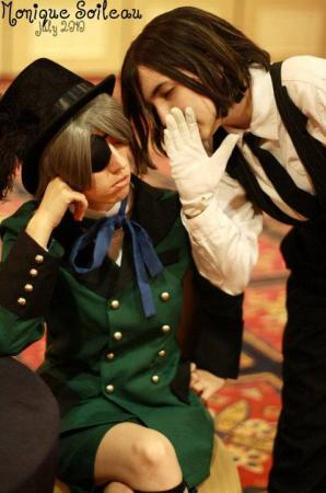 Ciel Phantomhive from Black Butler worn by Winry Chan