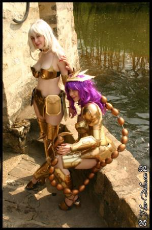 Milo of Scorpio from Saint Seiya worn by Lili
