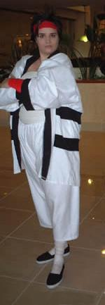 Sanosuke Sagara from Rurouni Kenshin worn by Seiya Kou