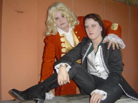 Lestat de Lioncourt from Interview with the Vampire worn by Seiya Kou