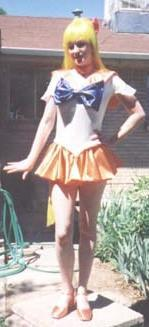 Sailor Venus from Sailor Moon worn by Serenity's Closet
