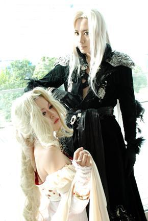 Sephiroth from Final Fantasy VII worn by Kazuya