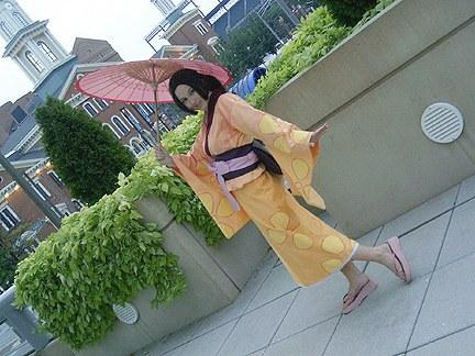 Fuu from Samurai Champloo worn by Tess