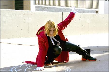 Edward Elric from Fullmetal Alchemist worn by Tess