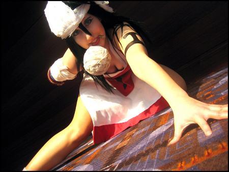 Kuukaku Shiba from Bleach